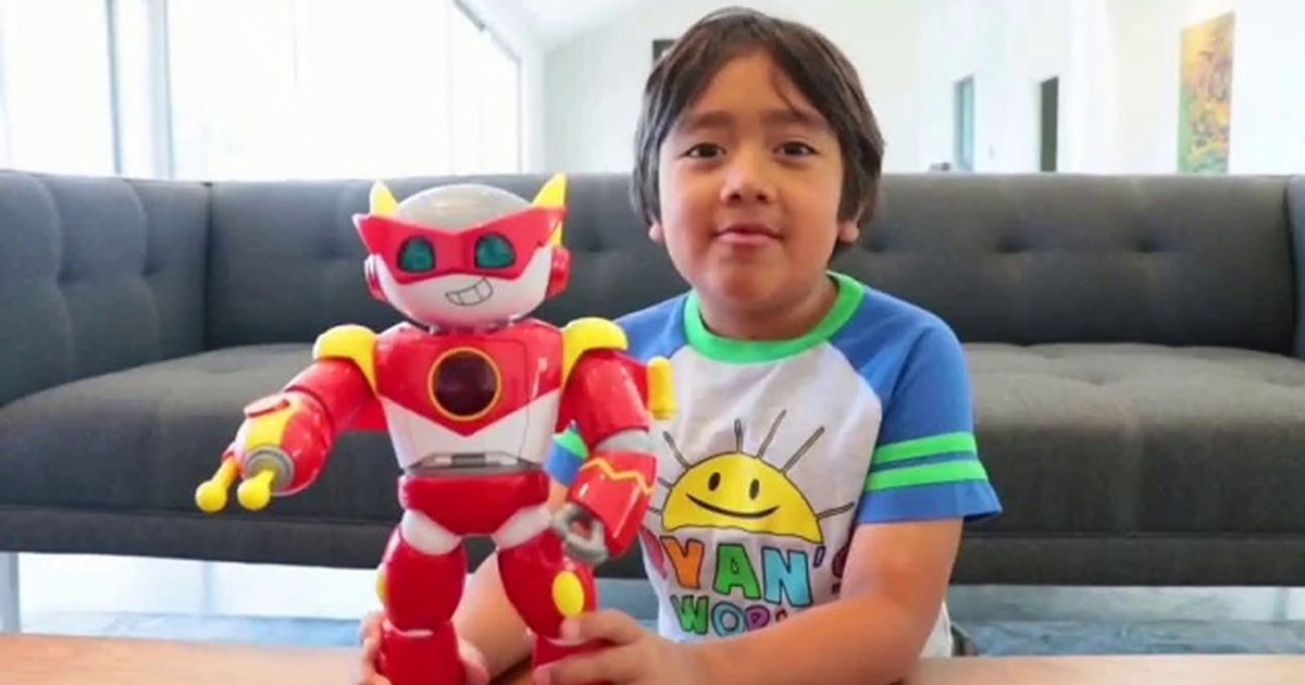 9 year old ryan kaji becomes 2020 s highest paid youtuber
