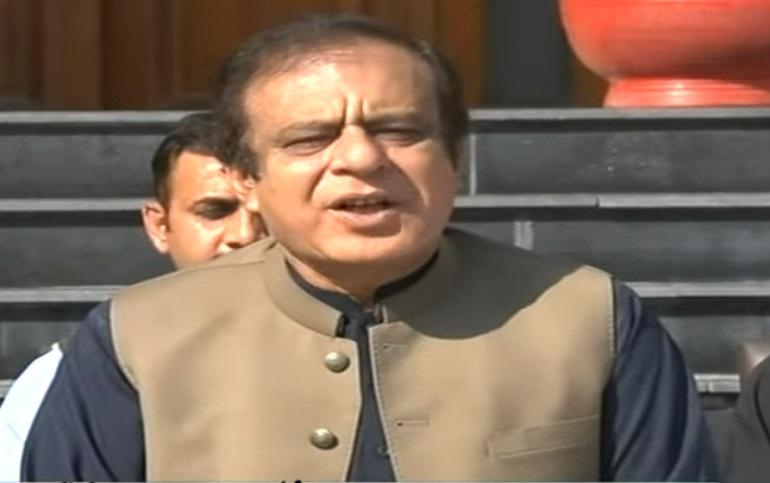 federal minister for information and broadcasting senator shibli faraz said the ecp should take every step to ensure transparency in senate polls photo screengrab