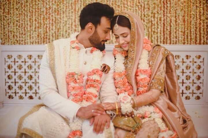 Sana Javed and Umair Jaswal.  PHOTO COURTESY: INSTAGRAM