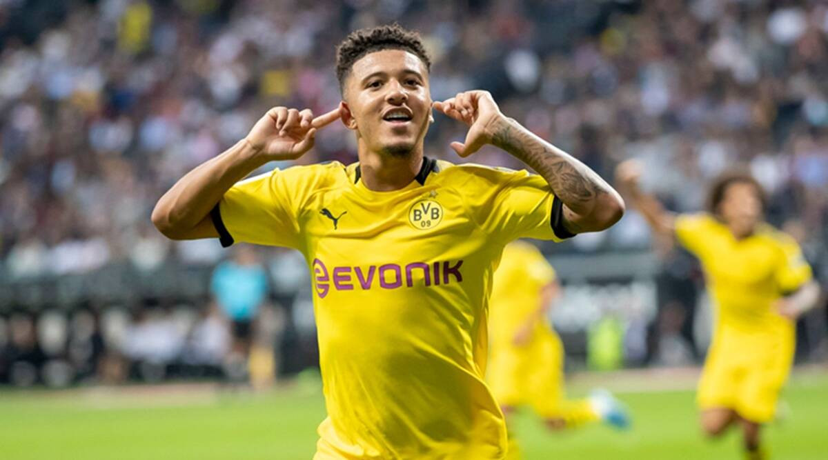 Man United sign Sancho from Dortmund