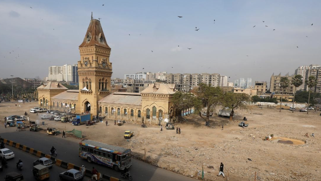 a reuters file image of karachi