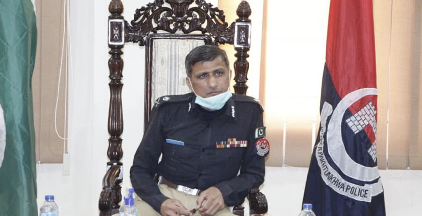 k p ig for strict action against militants in buner district