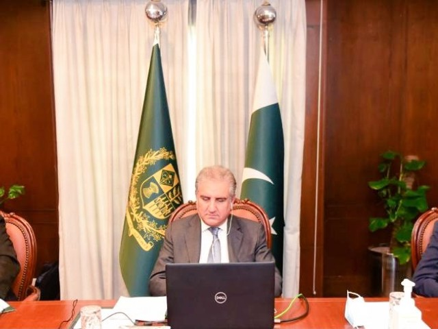 qureshi called for multilateralism amid covid pandemic
