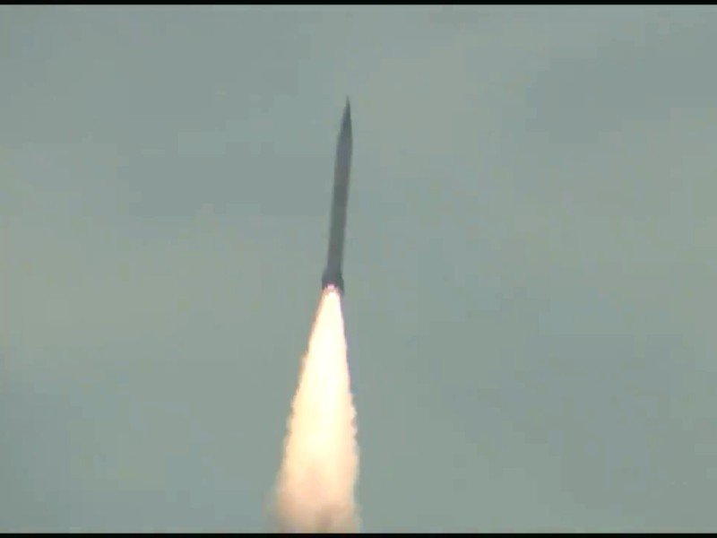 the surface to surface shaheen 3 ballistic missile has a range of 2 750 kilometres screengrab