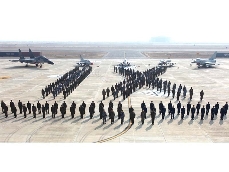 opening ceremony of the exercise was jointly witnessed by deputy chief of air staff operations air vice marshal waqas ahmed sulehri and assistant chief of staff plaaf major general sun hong photo paf