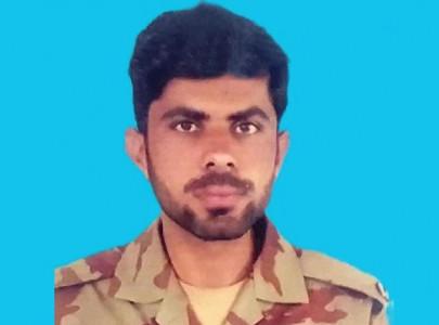 pakistan army soldier embraces martyrdom in turbat ambush