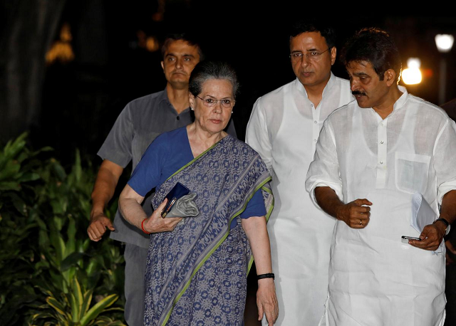 leader of india s opposition congress holds on after dissent letter