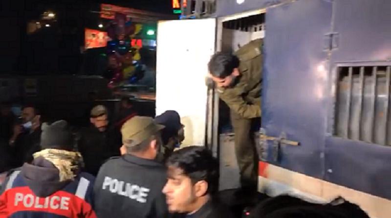 lahore police detain dozens of ucp students screengrab