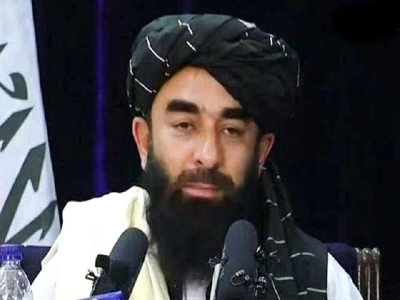 afghan taliban spokesperson zabihullah mujahid