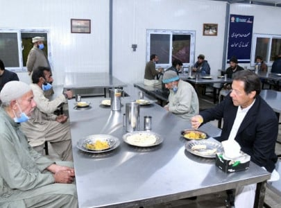 watch pm imran breaks bread with panagah dwellers