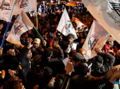 thousands march in baghdad to mark anniversary of iran general s assassination