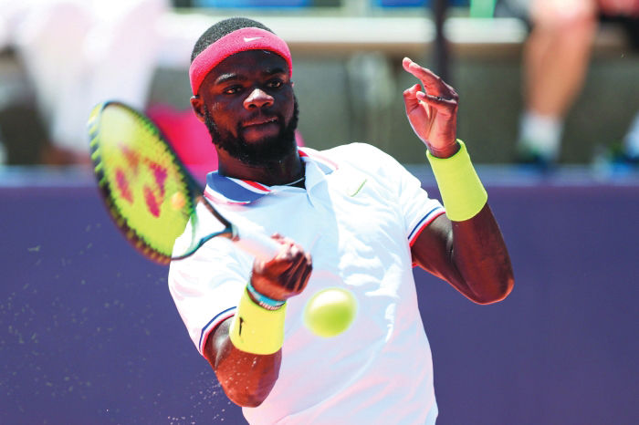 tiafoe tests positive for covid 19