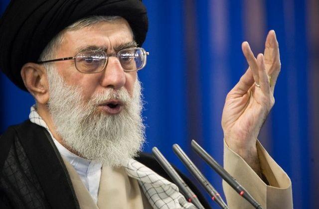 iran s supreme leader ayatollah ali khamenei speaks during friday prayers in tehran september 14 2007 photo reuters