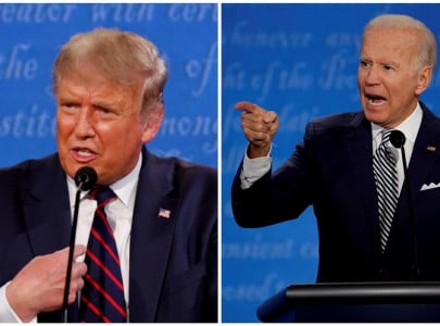 trump and biden urge supporters to vote early as this week s final debate showdown awaits
