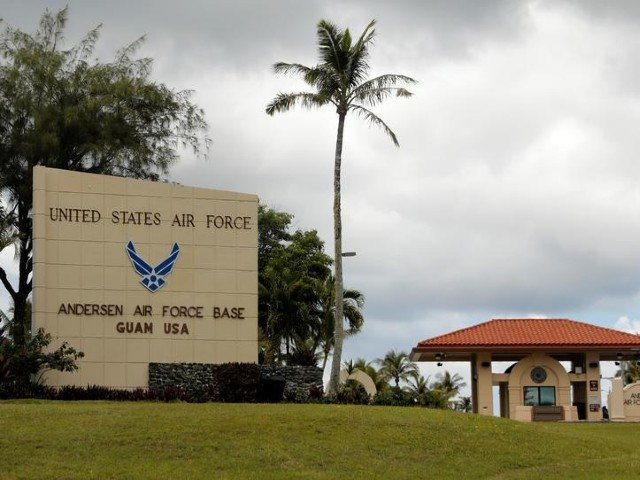 china air force video appears to show simulated attack on us base on guam