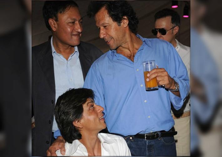 when srk had a fan moment with imran khan