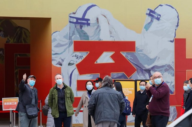 World Health Organization team visits Wuhan market where coronavirus spotted in early stage