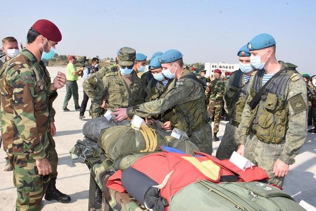 pak russia friendship drills begin in tarbela