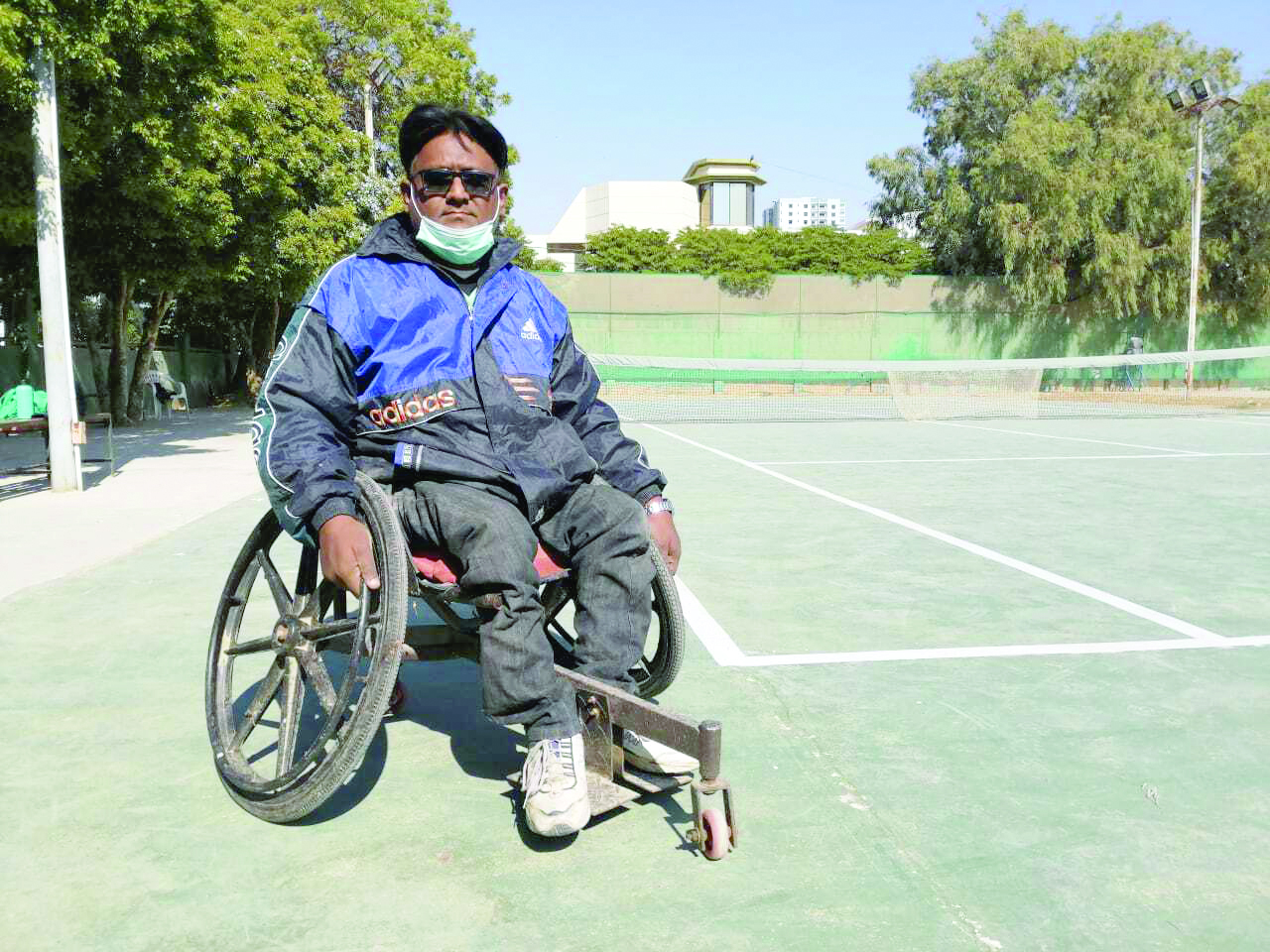 of breaking barriers and mobilising others