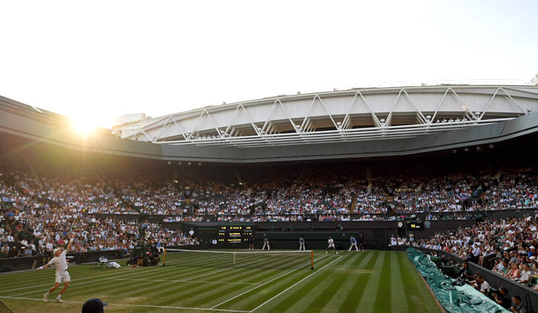 no financial impact from wimbledon cancellation