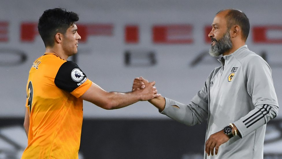 Wolves' Nuno seeks solutions up front with Jimenez sidelined