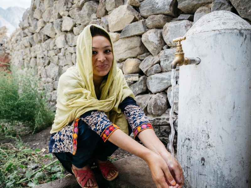 5,500 houses of central Hunza to get clean drinking water