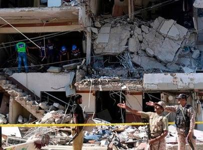 karachi blast families of injured complain local hospital denied emergency care
