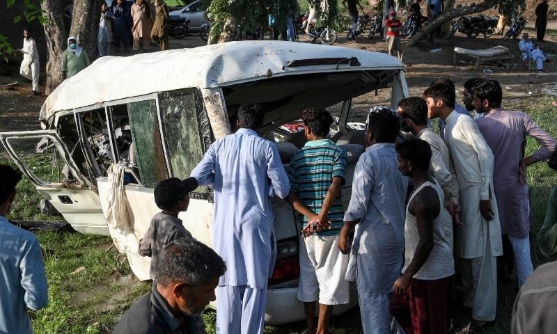 in the heart of peshawar a neighbourhood mourns