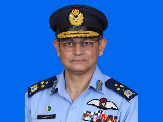 air marshal hamid rashid randhawa was commissioned in pakistan aiessr force in june 1988 and commanded a fighter squadron a flying wing and an operational air base photo expr