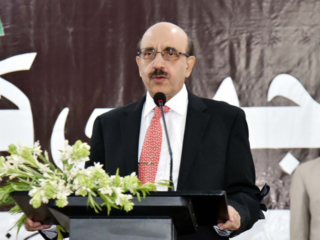 azad jammu and kashmir ajk president sardar masood khan photo file