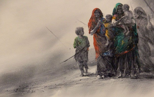 80 international artists display watercolours at fomma
