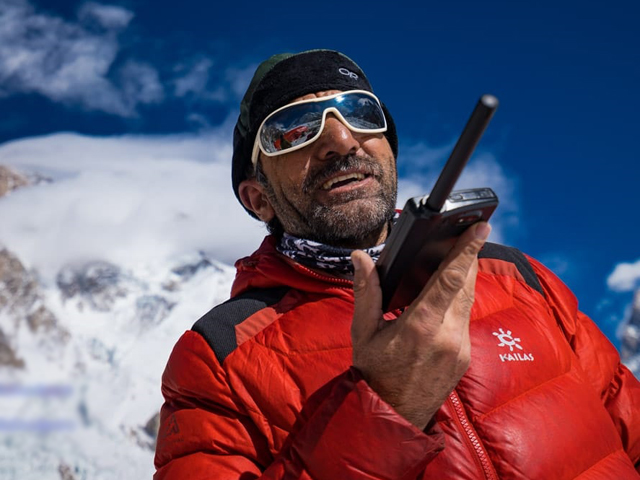 renowned pakistani mountaineer muhammad ali sadpara photo twitter ali sadpara