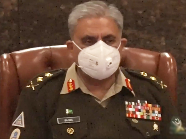 army chief gen qamar javed bajwa chairing the 239th corps commanders conference at general headquarters on tuesday screengrab