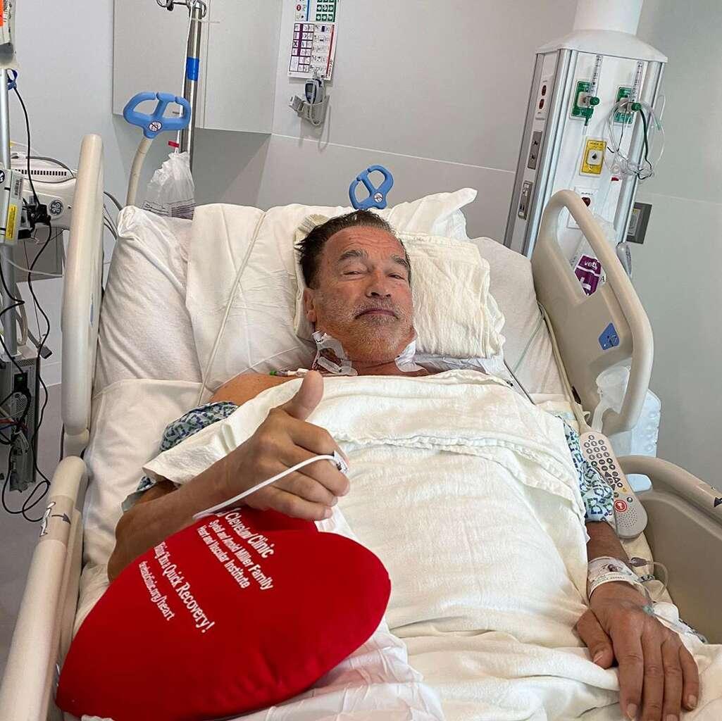 Arnold Schwarzenegger feels 'fantastic' after heart surgery