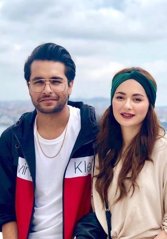 Hania Aamir confirms she's not dating Asim Azhar
