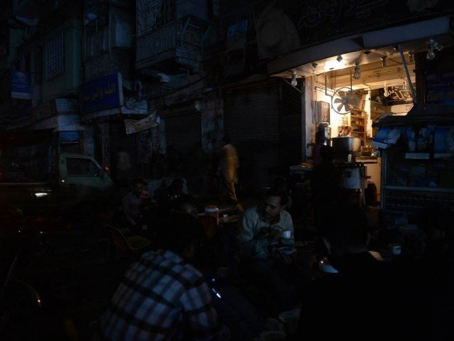 power supply suspended for eight hours in several areas photo afp