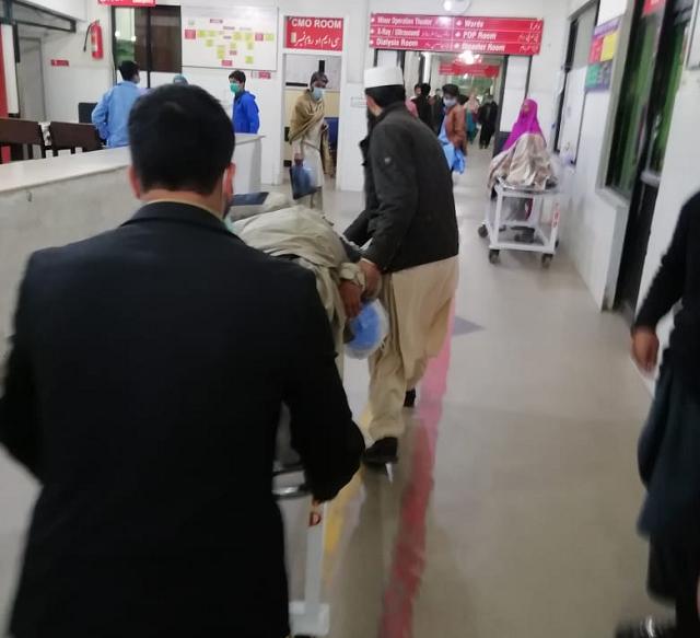at least 25 injured in rawalpindi s ganj mandi blast