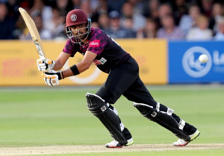 babar azam sparks outrage by sporting alcohol logo on his somerset kit