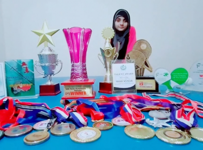 haiqa hassan pakistan s young table tennis prodigy