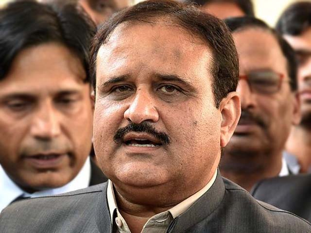 chief minister punjab usman buzdar photo nni