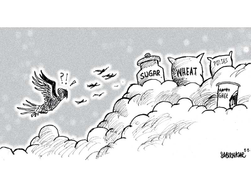 comic wisdom by sabir nazar august 2020