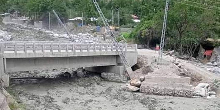 flash floods wreak havoc in chitral