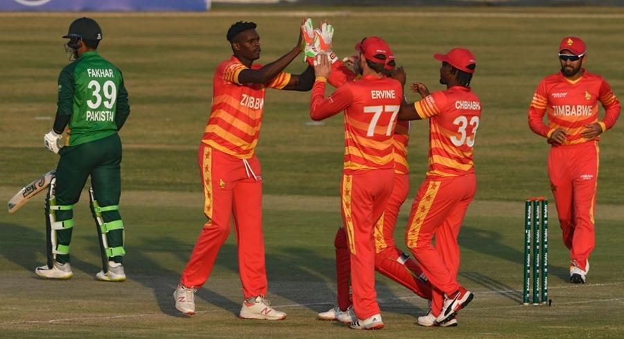 third odi zimbabwe edge past pakistan in super over