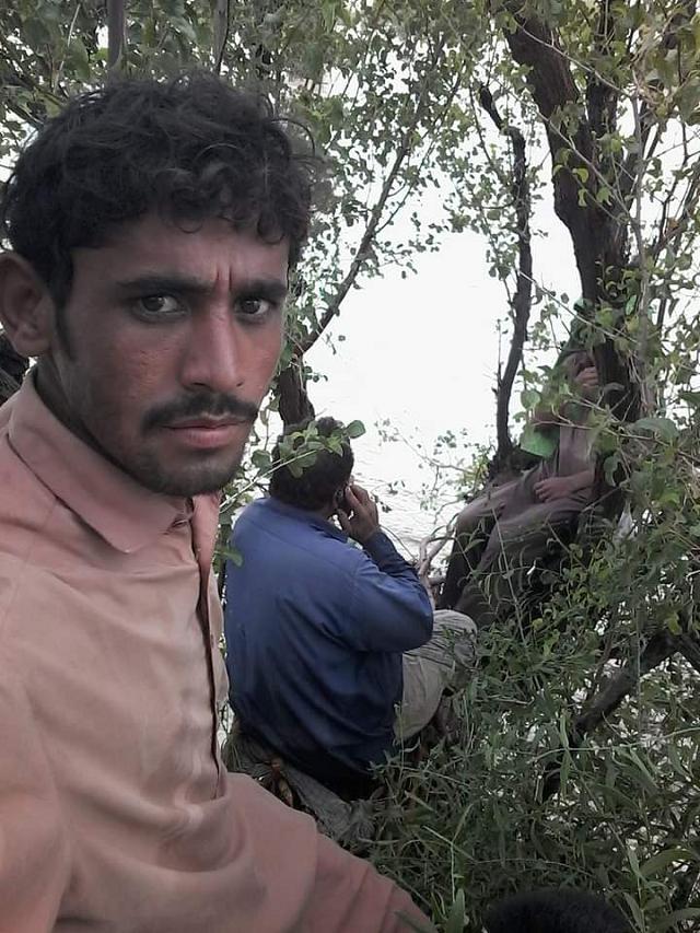 dozens of villages crop fields inundated in dadu district