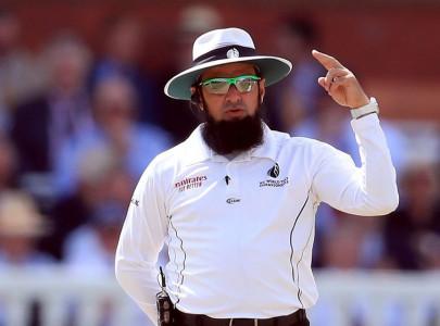 aleem dar ahsan raza to umpire in south africa tests