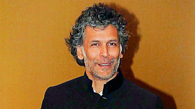 milind soman booked for alleged obscenity