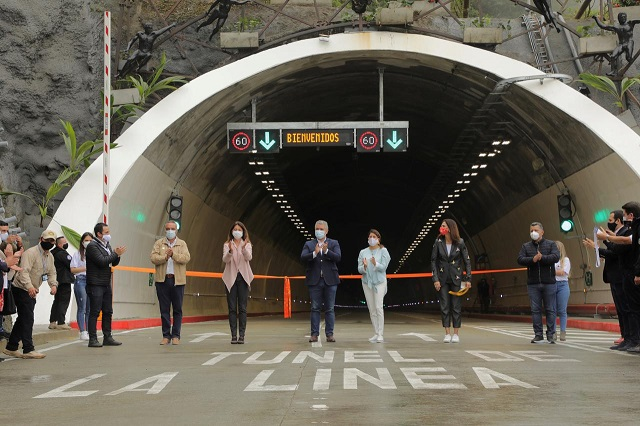 colombia opens south america s longest road tunnel