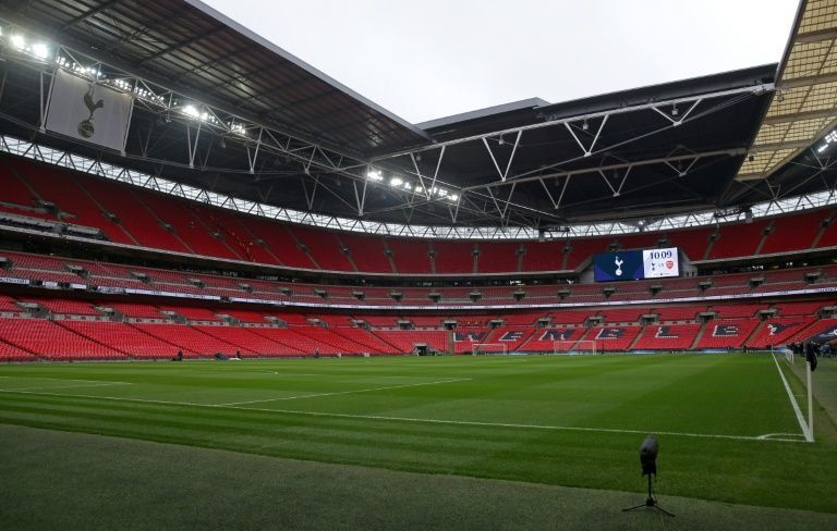 empty wembley waits for euro party