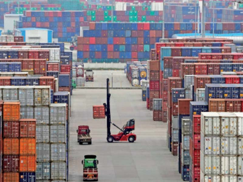 unpredictable export growth during pandemic