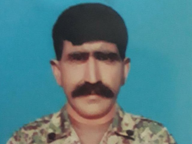 39 year old havaldar liaqat a resident of chakwal district embraced martyrdom during the exchange of intense fire photo ispr